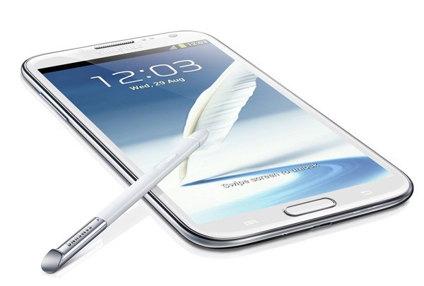 The New Beast on the block. The Galaxy Note II